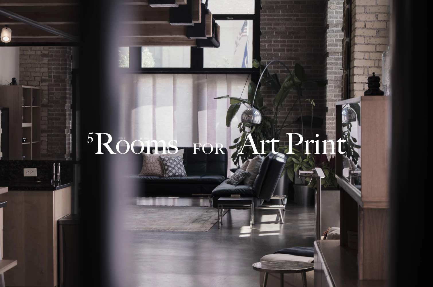 Art in Home, 5 main rooms for art. 1