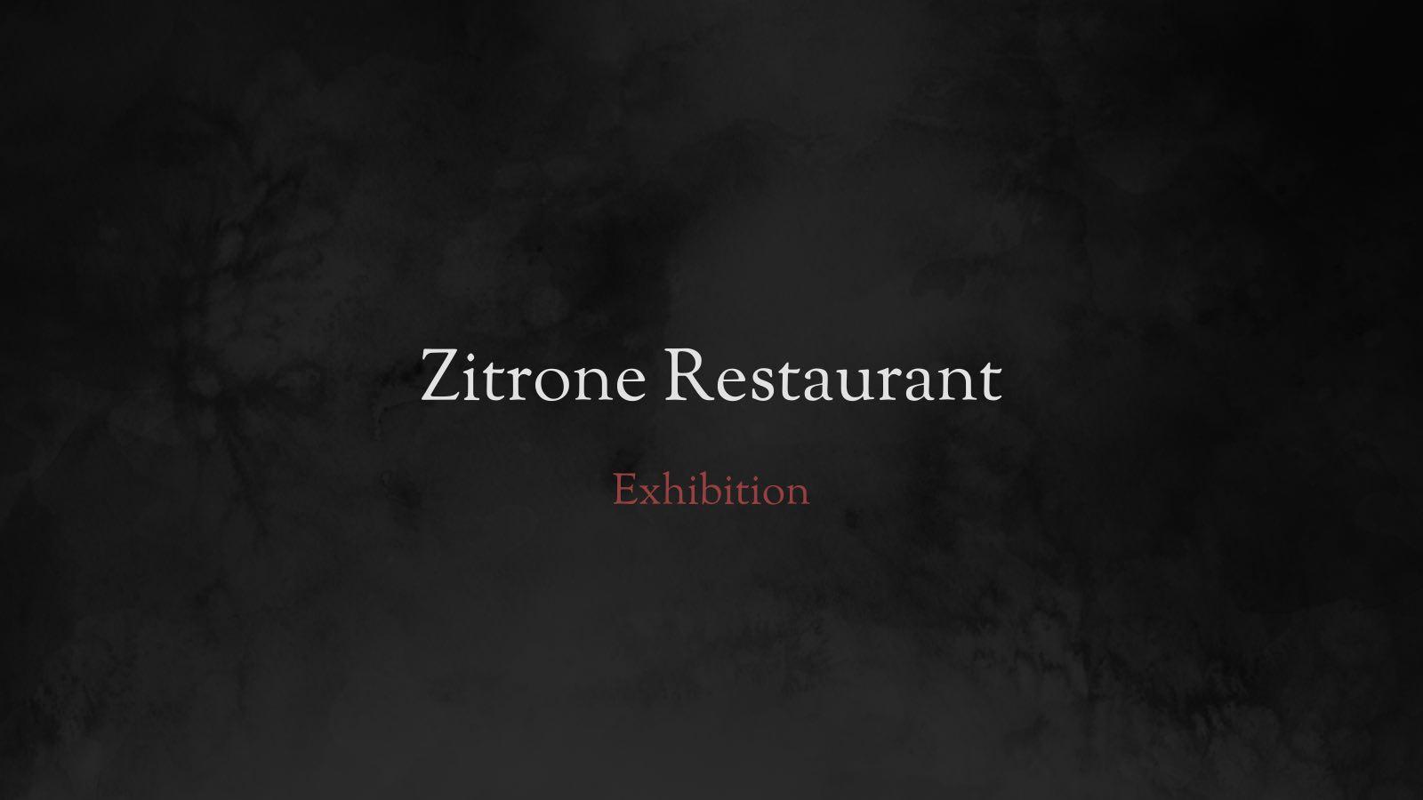 Zitrone exhibition